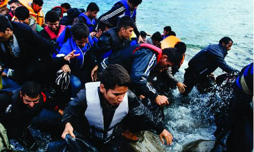 Over 710,000 migrants crossed into EU this year