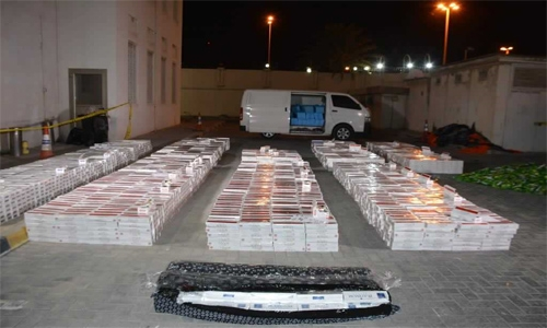 Nine arrested for trafficking, selling banned tobacco in Bahrain