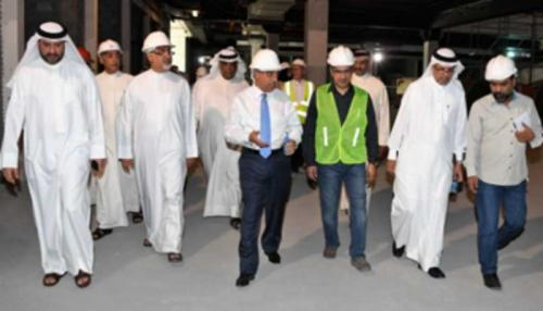 Revamp work on track at Muharraq Central Market