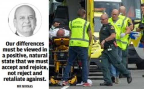 New Zealand terror attack condemned