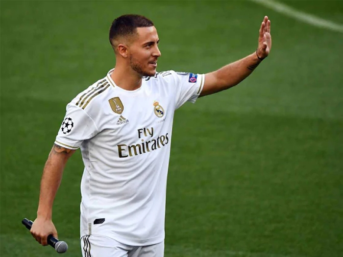 Hazard wants to become Real Madrid 'Galactico