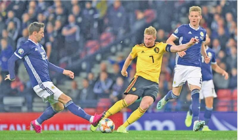 Belgium outclass Scotland