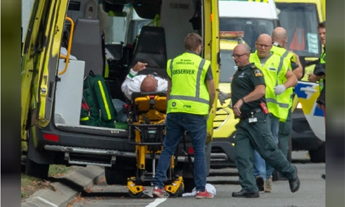Forty dead, 20 seriously wounded in New Zealand mosque shootings