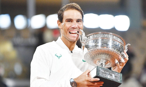Nadal routs Djokovic to win 13th French Open title
