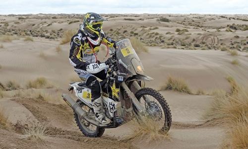 Rain hits Dakar as  Spaniard  wins