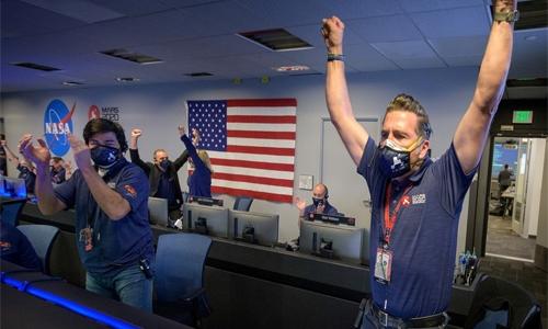 Perseverance spacecraft lands on Mars