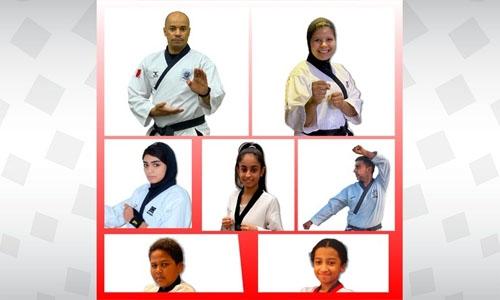 Bahrain bags 8 medals in Heroes Taekwondo Championship