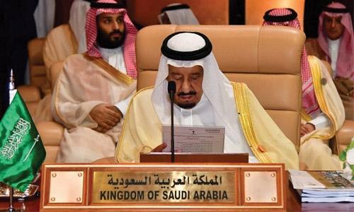 Saudi King slams Iranian meddling in regional affairs