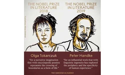 lga Tokarczuk, Peter Handke win Nobel Literature prizes