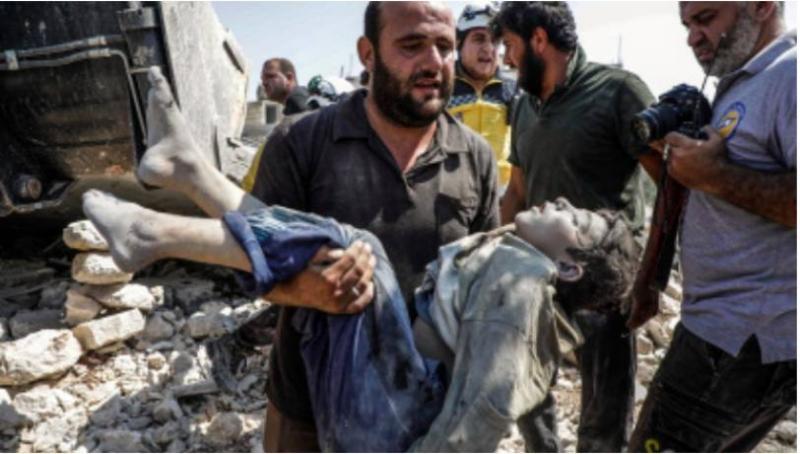 Syria regime strikes kill mother, 6 of her children: monitor