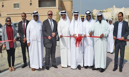 Walkway opened  in Hamad Town