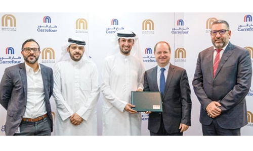 Carrefour signs agreement to help reduce food waste