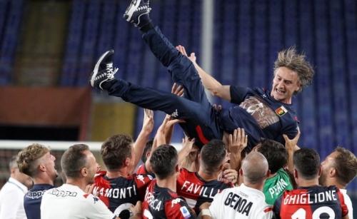 Lecce relegated as Genoa win in Serie A finale
