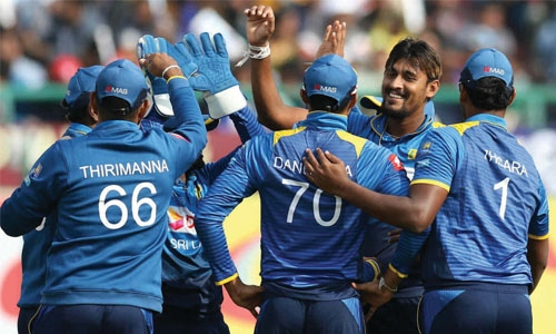 Sri Lanka rout India