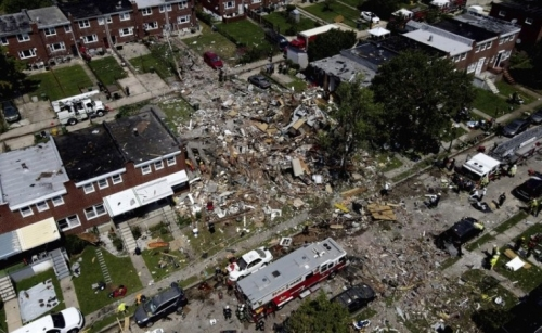 1 dead, 6 rescued after gas explosion in Baltimore
