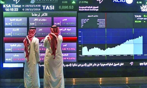Saudi lifted by financials, other markets mixed