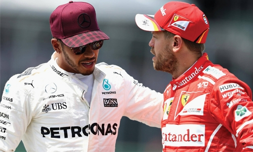 Hamilton warned Vettel about 'disrespect'