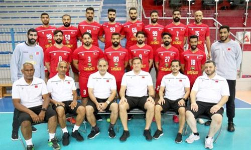 Bahrain's senior men's national handball team depart for historic participation in Tokyo Olympic Games