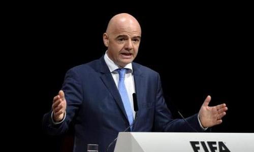 Infantino 'confident' in 2022 despite Qatar crisis