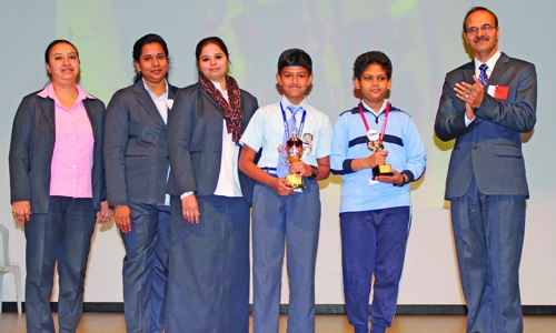 NMS-DPS students shine at UCMAS contest