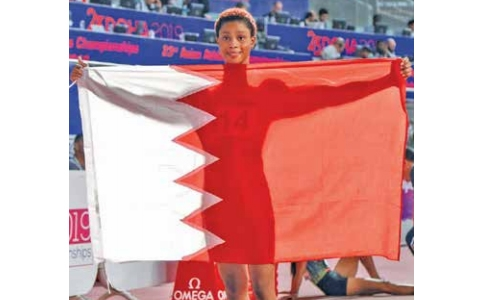 Bahrain triumph at Asian athletics meet