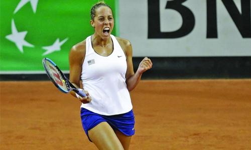 Madison Keys sends U.S. into Fed Cup final