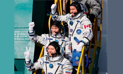 Soyuz heads to ISS on first manned mission since failure