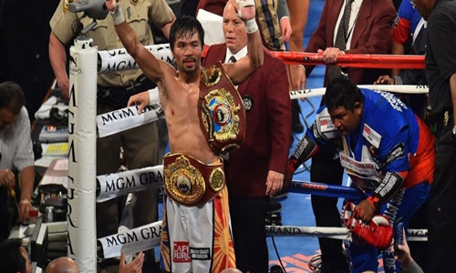 Boxing icon Pacquiao announces 2022 run for Philippine presidency