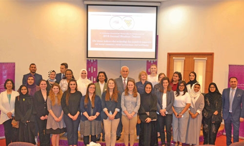 Royal University for Women celebrate Women's Day