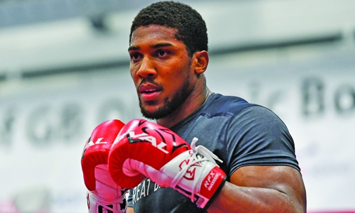 Foreman believes Anthony Joshua is the man to beat