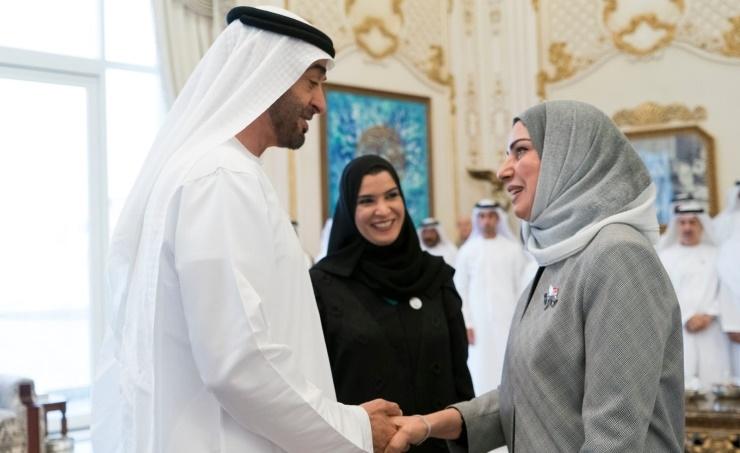 Abu Dhabi crown prince receives speaker
