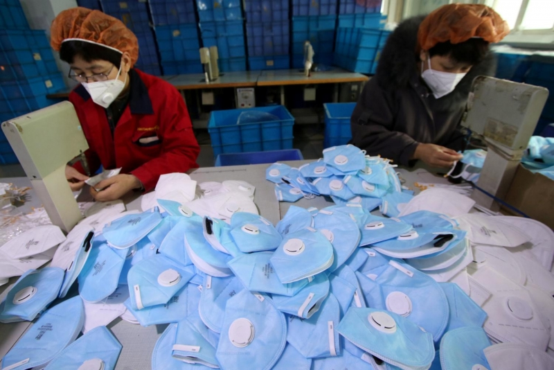 Kingdom 'supporting China' to solve face mask shortage