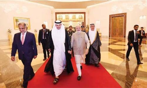 Bahrain echoes NaMo mantra