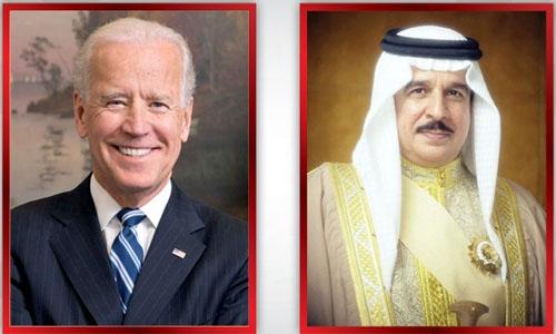 HM King congratulates US President on his inauguration