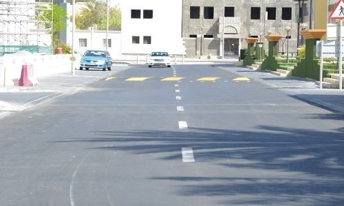 Riffa road development project completed ahead of schedule