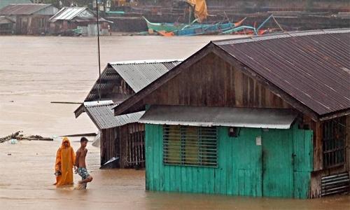 Philippines evacuates thousands as heavy rains flood cities, provinces