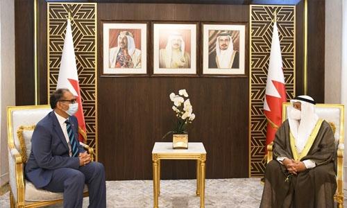Solid Bahrain and Pakistan ties praised