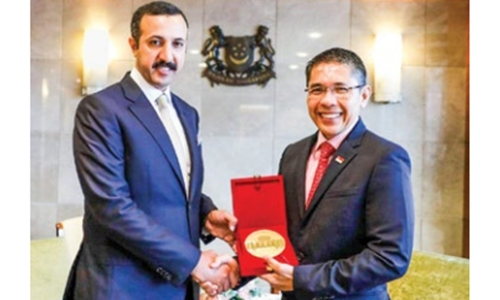 Bahrain-Singapore relations 'on track'