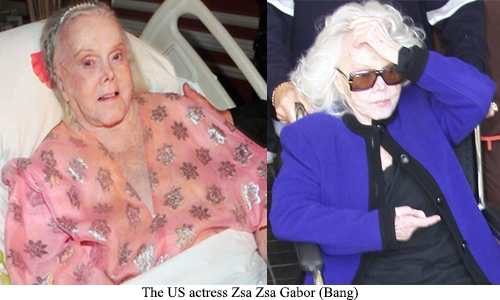 99 Year Old Zsa Zsa Gabor Rushed To Hospital The Daily