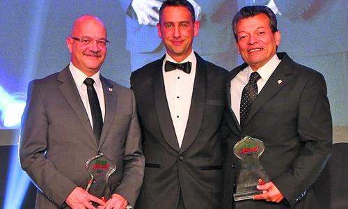 ABG, six units win top awards