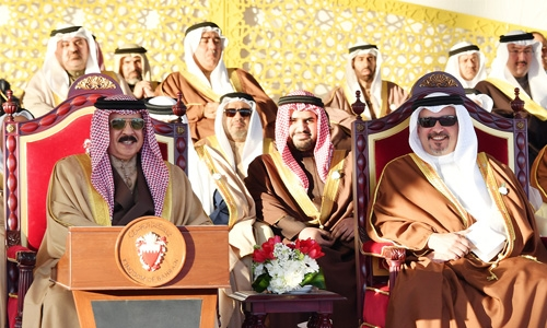 HM King launches Khalifa Town