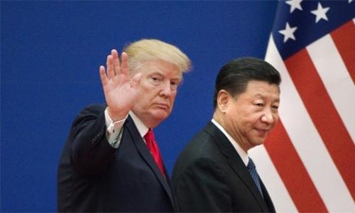 Trump delivers hard line on China tariffs threat