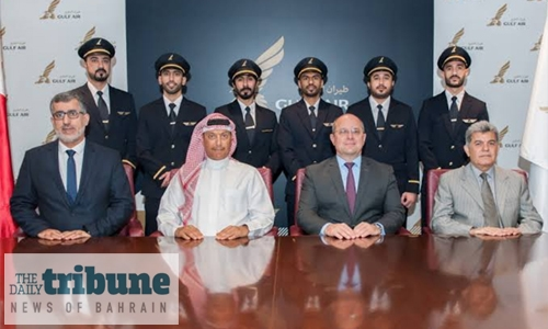 Gulf Air achieves 100pc Bahrainisation for second officer pilots