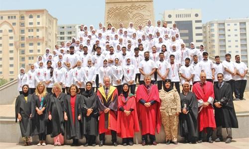 RCSI Bahrain nursing students celebrates White Uniform Ceremony