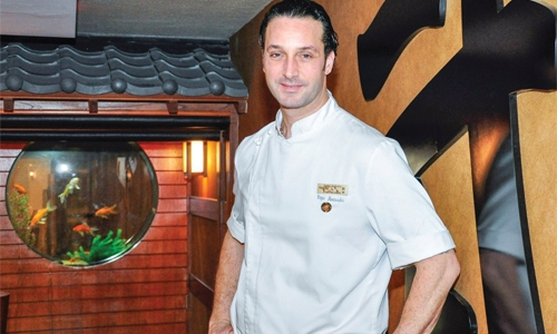 World Sushi Champion  Chef Pepi Anevski at Sato