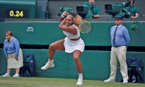 Serena battles into semi