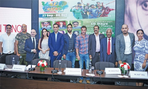 Arabian Cricket Carnival begins in Bahrain