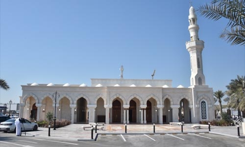 Renovated King Fahd Causeway mosque reopens