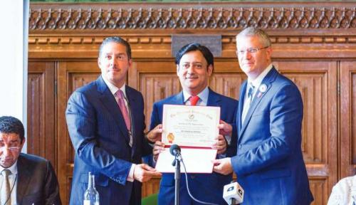 Bahrain shines at British Parliament