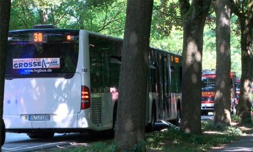 Knife attack on German bus